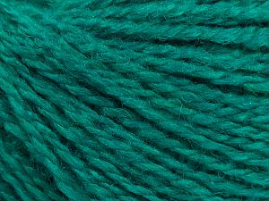 Fiber Content 80% Acrylic, 20% Polyamide, Brand Ice Yarns, Emerald Green, fnt2-71089