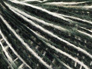 Fiber Content 70% Acrylic, 30% Wool, White, Brand Ice Yarns, Grey, Black, fnt2-71109