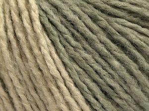 Fiber Content 60% Acrylic, 40% Wool, Light Khaki, Brand Ice Yarns, Cream, fnt2-71137