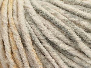 Fiber Content 70% Acrylic, 30% Wool, Olive Light Green, Brand Ice Yarns, Grey, Cream, fnt2-71138