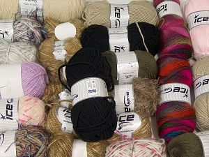 Winter Yarns In this list; you see most recent 50 mixed lots. <br> To see all <a href=&/mixed_lots/o/4#list&>CLICK HERE</a> (Old ones have much better deals)<hr> Brand Ice Yarns, fnt2-71143