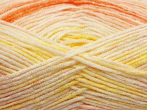 Fiber Content 100% Premium Acrylic, Yellow Shades, Orange Shades, Brand Ice Yarns, fnt2-71176