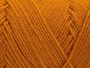 Items made with this yarn are machine washable & dryable. Fiber Content 100% Acrylic, Brand Ice Yarns, Gold, fnt2-71183