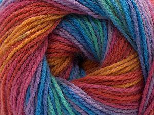 Fiber Content 100% Acrylic, Rainbow, Brand Ice Yarns, fnt2-71202