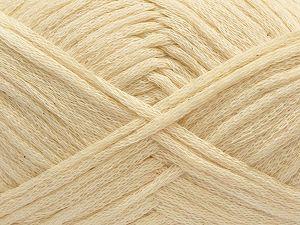 Fiber Content 75% Cotton, 25% Nylon, Brand Ice Yarns, Cream, fnt2-71215