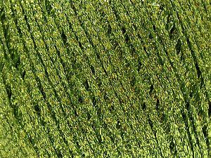 Fiber Content 100% Metallic Lurex, Brand Ice Yarns, Green, fnt2-71226