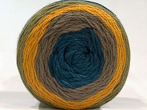 Fiber Content 100% Cotton, Yellow, Turquoise, Light Khaki, Brand Ice Yarns, Camel, fnt2-71241