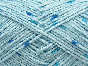 Fiber Content 80% Acrylic, 20% Wool, Brand Ice Yarns, Baby Blue, fnt2-71251