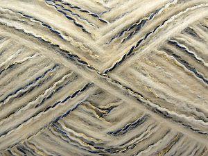Fiber Content 5% Metallic Lurex, 35% Polyamide, 25% Wool, 25% Acrylic, 10% Viscose, Turquoise, Navy, Brand Ice Yarns, Gold, Ecru, fnt2-71281