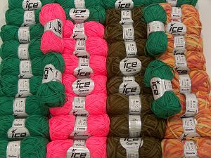 Violino Yarns - Binario Yarns In this list; you see most recent 50 mixed lots. <br> To see all <a href=&/mixed_lots/o/4#list&>CLICK HERE</a> (Old ones have much better deals)<hr> Brand Ice Yarns, fnt2-71296