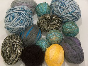Leftover Yarns In this list; you see most recent 50 mixed lots. <br> To see all <a href=&/mixed_lots/o/4#list&>CLICK HERE</a> (Old ones have much better deals)<hr> Brand Ice Yarns, fnt2-71312