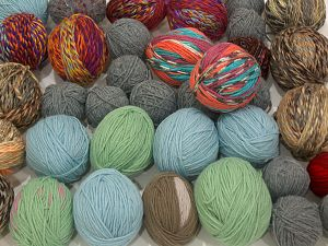 Leftover Yarns In this list; you see most recent 50 mixed lots. <br> To see all <a href=&/mixed_lots/o/4#list&>CLICK HERE</a> (Old ones have much better deals)<hr> Brand Ice Yarns, fnt2-71313