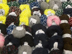 Custom Blend Yarns In this list; you see most recent 50 mixed lots. <br> To see all <a href=&/mixed_lots/o/4#list&>CLICK HERE</a> (Old ones have much better deals)<hr> Brand Ice Yarns, fnt2-71317