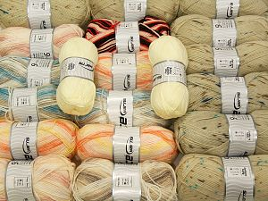 Acrylic Yarns In this list; you see most recent 50 mixed lots. <br> To see all <a href=&/mixed_lots/o/4#list&>CLICK HERE</a> (Old ones have much better deals)<hr> Vezelgehalte 100% Acryl, Brand Ice Yarns, fnt2-71322