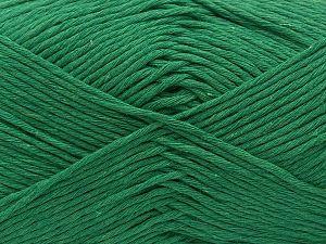Fiber Content 100% Cotton, Brand Ice Yarns, Emerald Green, fnt2-71341