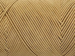 Fiber Content 70% Polyester, 30% Cotton, Brand Ice Yarns, Dark Cream, fnt2-71392