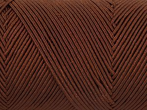 Fiber Content 70% Polyester, 30% Cotton, Brand Ice Yarns, Brown, fnt2-71394