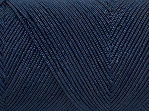 Fiber Content 70% Polyester, 30% Cotton, Navy, Brand Ice Yarns, fnt2-71395