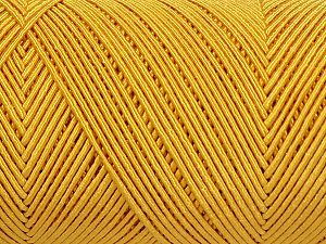 Fiber Content 70% Polyester, 30% Cotton, Yellow, Brand Ice Yarns, fnt2-71398