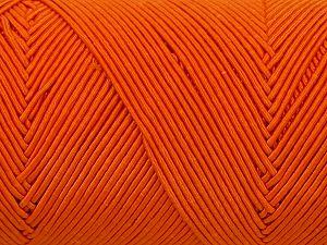 Fiber Content 70% Polyester, 30% Cotton, Brand Ice Yarns, Dark Orange, fnt2-71399