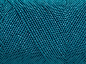 Fiber Content 70% Polyester, 30% Cotton, Teal, Brand Ice Yarns, fnt2-71401