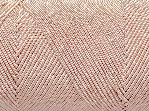 Fiber Content 70% Polyester, 30% Cotton, Powder Pink, Brand Ice Yarns, fnt2-71404