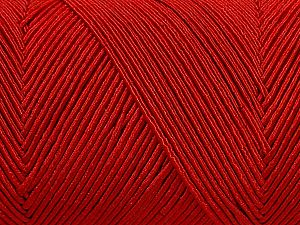 Fiber Content 70% Polyester, 30% Cotton, Red, Brand Ice Yarns, fnt2-71407