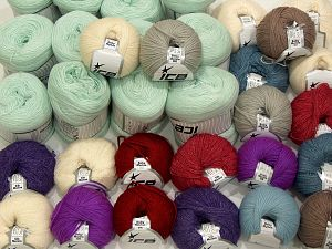 Luxury Yarns In this list; you see most recent 50 mixed lots. <br> To see all <a href=&/mixed_lots/o/4#list&>CLICK HERE</a> (Old ones have much better deals)<hr> Brand Ice Yarns, fnt2-71423