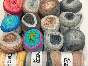 Cakes Natural Cotton Yarns In this list; you see most recent 50 mixed lots. <br> To see all <a href=&/mixed_lots/o/4#list&>CLICK HERE</a> (Old ones have much better deals)<hr> Brand Ice Yarns, fnt2-71427