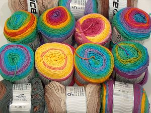 Cakes Natural Cotton Yarns In this list; you see most recent 50 mixed lots. <br> To see all <a href=&/mixed_lots/o/4#list&>CLICK HERE</a> (Old ones have much better deals)<hr> Brand Ice Yarns, fnt2-71428