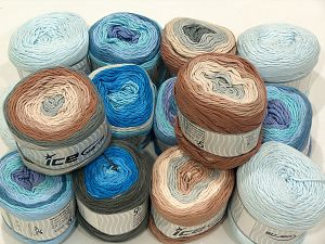 Cakes Natural Cotton Yarns In this list; you see most recent 50 mixed lots. <br> To see all <a href=&/mixed_lots/o/4#list&>CLICK HERE</a> (Old ones have much better deals)<hr> Brand Ice Yarns, fnt2-71434