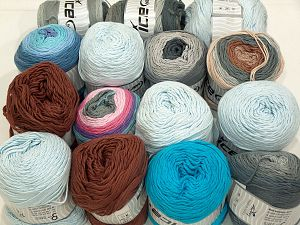 Cakes Natural Cotton Yarns In this list; you see most recent 50 mixed lots. <br> To see all <a href=&/mixed_lots/o/4#list&>CLICK HERE</a> (Old ones have much better deals)<hr> Brand Ice Yarns, fnt2-71436