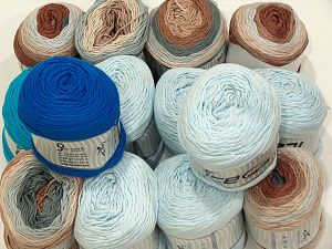 Cakes Natural Cotton Yarns In this list; you see most recent 50 mixed lots. <br> To see all <a href=&/mixed_lots/o/4#list&>CLICK HERE</a> (Old ones have much better deals)<hr> Brand Ice Yarns, fnt2-71437