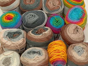Cakes Natural Cotton Yarns In this list; you see most recent 50 mixed lots. <br> To see all <a href=&/mixed_lots/o/4#list&>CLICK HERE</a> (Old ones have much better deals)<hr> Brand Ice Yarns, fnt2-71441