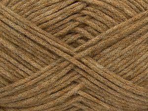 Fiber Content 41% SuperKid Mohair, 23% Viscose, 23% Polyamide, 11% Merino Wool, Brand Ice Yarns, Camel, fnt2-71452