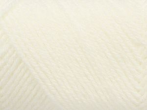 Items made with this yarn are machine washable & dryable. Fiber Content 100% Acrylic, White, Brand Ice Yarns, fnt2-71459