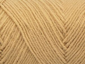 Items made with this yarn are machine washable & dryable. Fiber Content 100% Acrylic, Brand Ice Yarns, Beige, fnt2-71461