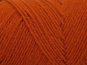 Items made with this yarn are machine washable & dryable. Fiber Content 100% Acrylic, Brand Ice Yarns, Dark Orange, fnt2-71462