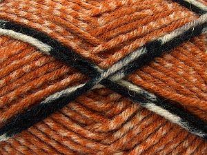 Fiber Content 50% Acrylic, 40% Wool, 10% Viscose, White, Orange, Brand Ice Yarns, Gold, Black, Beige, fnt2-71512