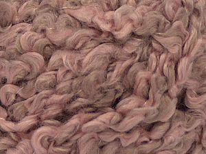 Fiber Content 90% Acrylic, 10% Nylon, Pink Shades, Brand Ice Yarns, Yarn Thickness 5 Bulky Chunky, Craft, Rug, fnt2-71538