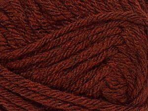 Fiber Content 88% Acrylic, 12% Wool, Brand Ice Yarns, Copper, Yarn Thickness 5 Bulky Chunky, Craft, Rug, fnt2-71540