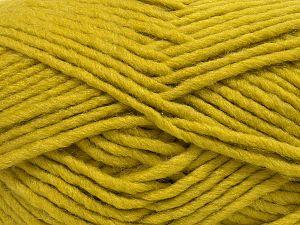 Fiber Content 90% Acrylic, 10% Wool, Light Olive Green, Brand Ice Yarns, fnt2-71563