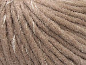 Fiber Content 90% Wool, 10% Viscose, Powder Pink, Brand Ice Yarns, fnt2-71575