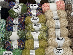 Custom Blends In this list; you see most recent 50 mixed lots. <br> To see all <a href=&/mixed_lots/o/4#list&>CLICK HERE</a> (Old ones have much better deals)<hr> Brand Ice Yarns, fnt2-71588