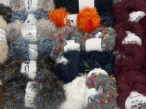 Custom Blends In this list; you see most recent 50 mixed lots. <br> To see all <a href=&/mixed_lots/o/4#list&>CLICK HERE</a> (Old ones have much better deals)<hr> Brand Ice Yarns, fnt2-71589