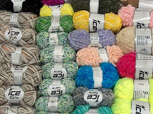 Fancy Yarns In this list; you see most recent 50 mixed lots. <br> To see all <a href=&/mixed_lots/o/4#list&>CLICK HERE</a> (Old ones have much better deals)<hr> Brand Ice Yarns, fnt2-71593