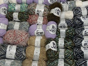 Custom Blends In this list; you see most recent 50 mixed lots. <br> To see all <a href=&/mixed_lots/o/4#list&>CLICK HERE</a> (Old ones have much better deals)<hr> Brand Ice Yarns, fnt2-71597
