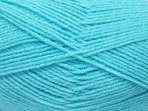 Fiber Content 100% Acrylic, Turquoise, Brand Ice Yarns, fnt2-71603