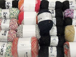 Fancy Yarns In this list; you see most recent 50 mixed lots. <br> To see all <a href=&/mixed_lots/o/4#list&>CLICK HERE</a> (Old ones have much better deals)<hr> Brand Ice Yarns, fnt2-71614