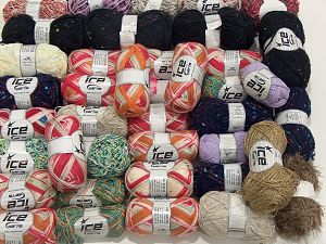 Fancy Yarns In this list; you see most recent 50 mixed lots. <br> To see all <a href=&/mixed_lots/o/4#list&>CLICK HERE</a> (Old ones have much better deals)<hr> Brand Ice Yarns, fnt2-71618